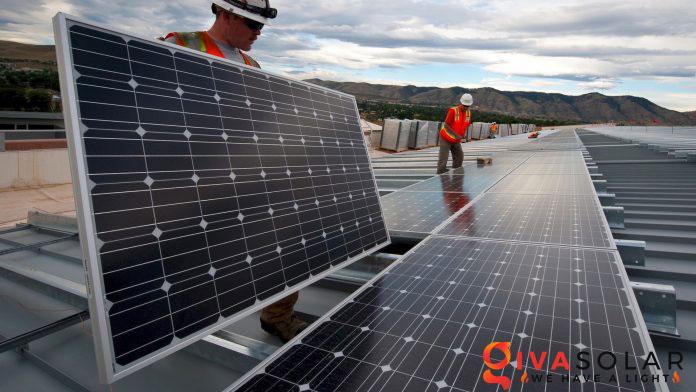 lắp đặt hệ thống điện mặt trời trên mái nhà 3