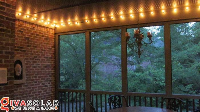 ý tưởng trang trí chiếu sáng hiên nhà 8