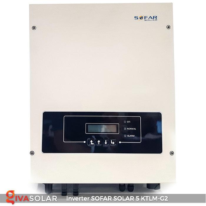 Bộ biến tần Inventer hòa lưới 5KW SOFAR SOLAR 5KTLM-G2 1
