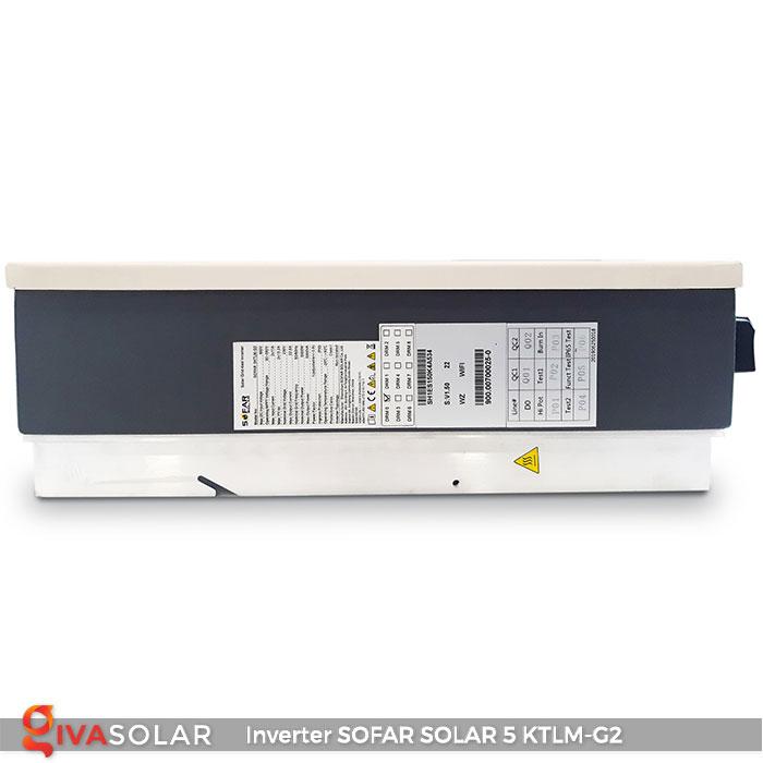Bộ biến tần Inventer hòa lưới 5KW SOFAR SOLAR 5KTLM-G2 4