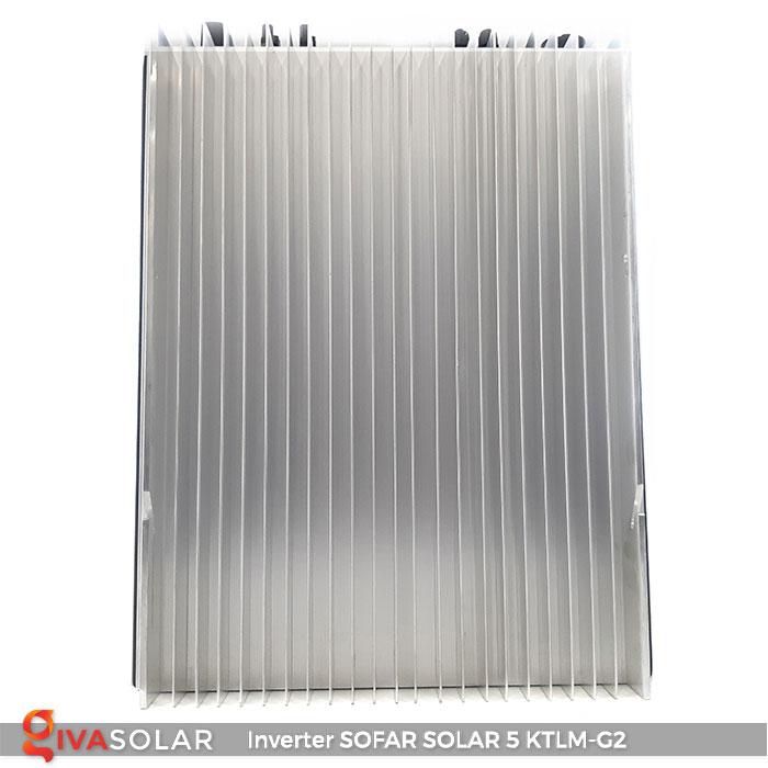 Bộ biến tần Inventer hòa lưới 5KW SOFAR SOLAR 5KTLM-G2 5