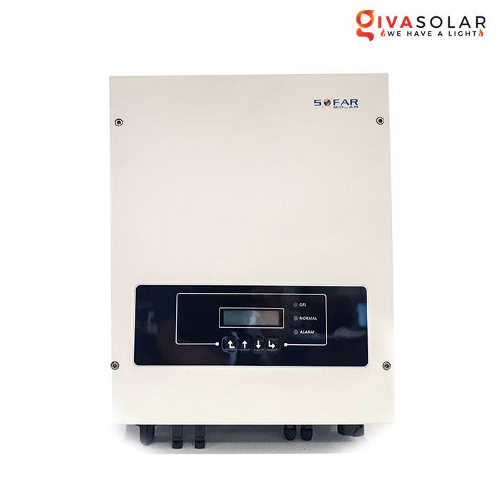Bộ biến tần Inventer hòa lưới 5KW SOFAR SOLAR 5KTLM-G2