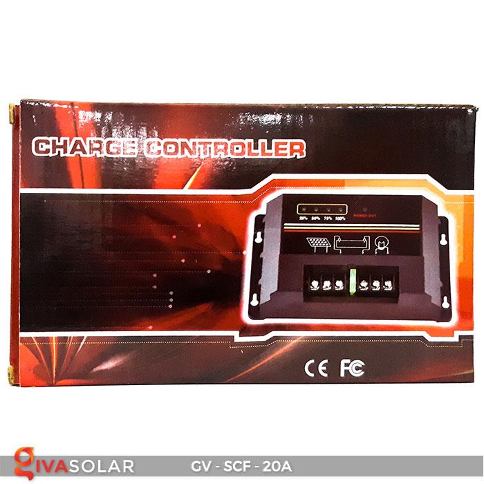 Bộ điều khiển sạc pin mặt trời SCF 20A 5