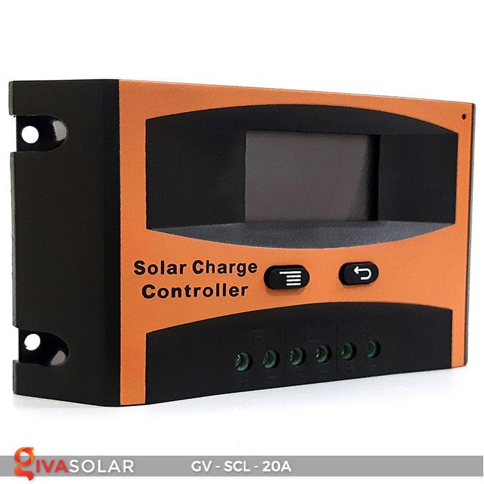 Bộ điều khiển sạc mặt trời SCL 20A 1
