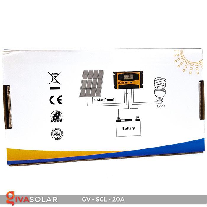Bộ điều khiển sạc mặt trời SCL 20A 10