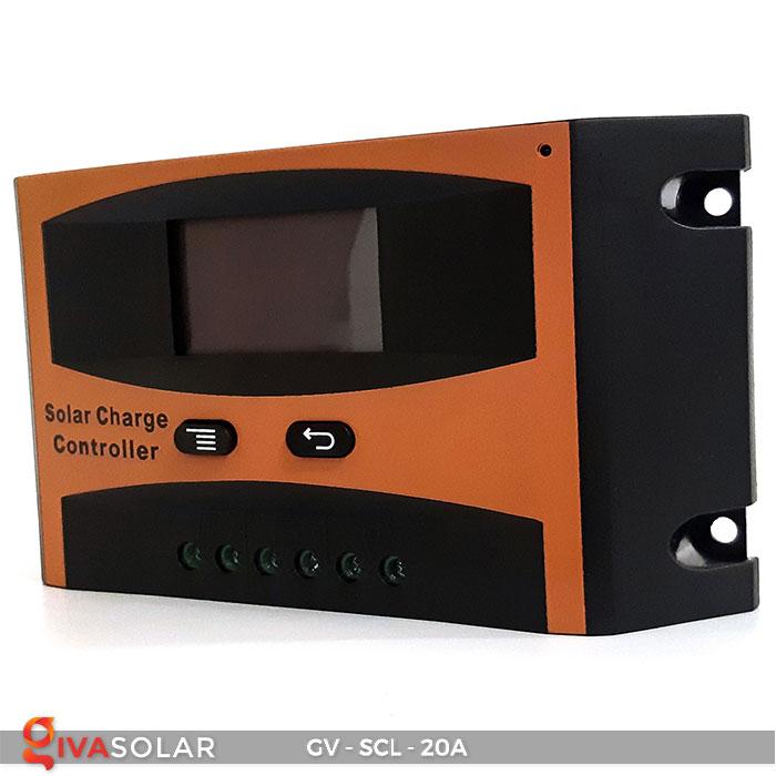 Bộ điều khiển sạc mặt trời SCL 20A 2