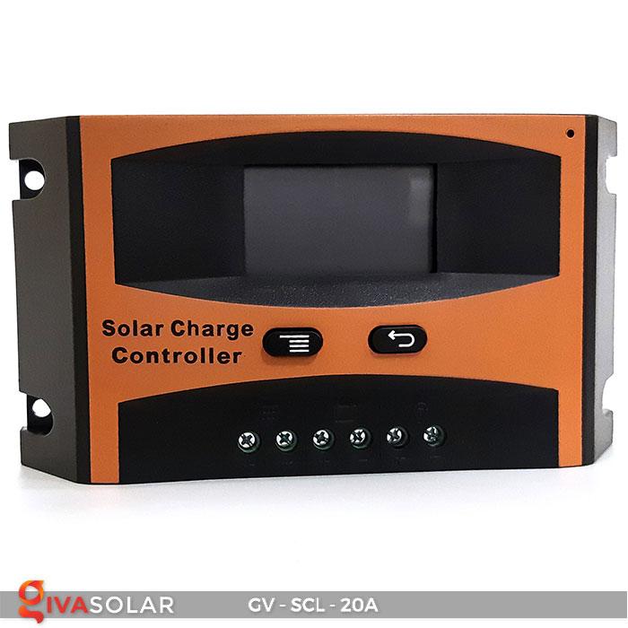 Bộ điều khiển sạc mặt trời SCL 20A 3