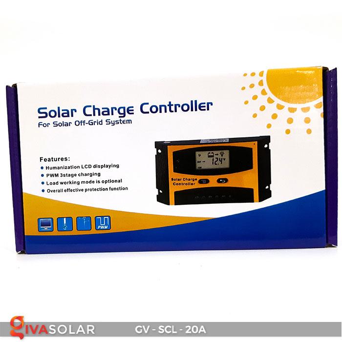 Bộ điều khiển sạc mặt trời SCL 20A 7