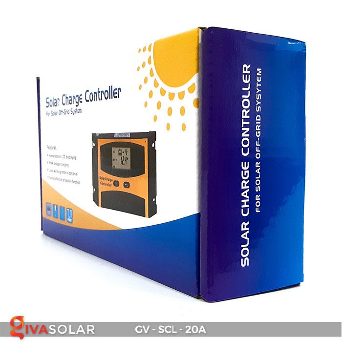 Bộ điều khiển sạc mặt trời SCL 20A 8