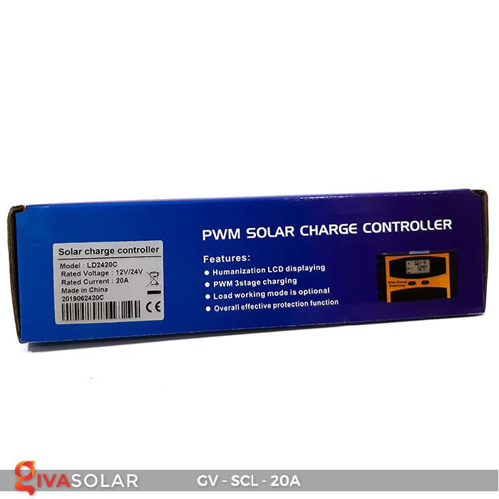 Bộ điều khiển sạc mặt trời SCL 20A 9