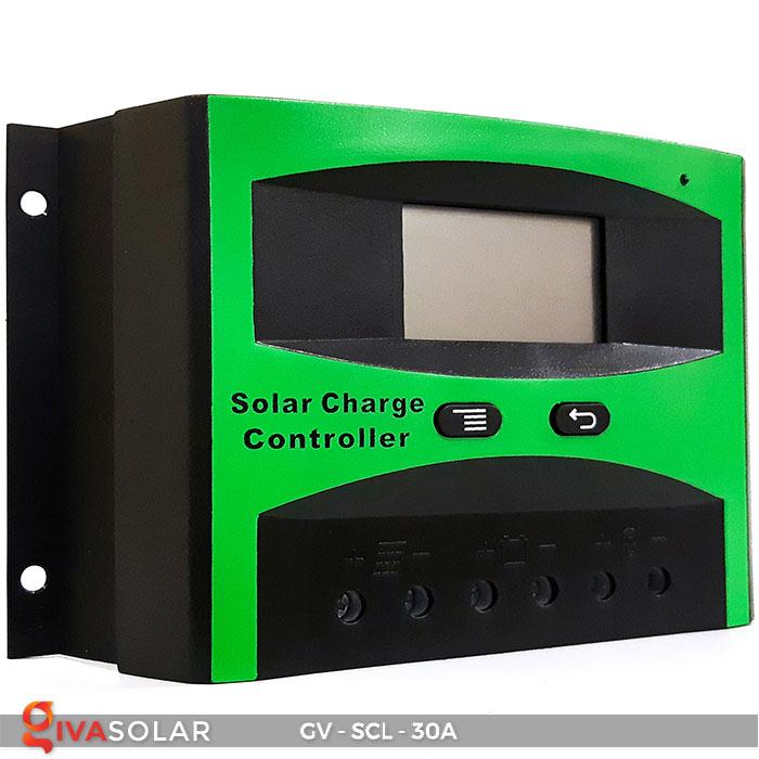 Bộ điều khiển sạc năng lượng mặt trời SCL-30A 1