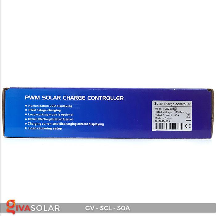 Bộ điều khiển sạc năng lượng mặt trời SCL-30A 10