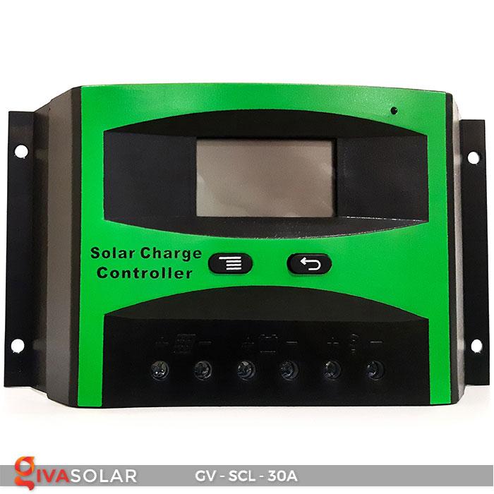 Bộ điều khiển sạc năng lượng mặt trời SCL-30A 2