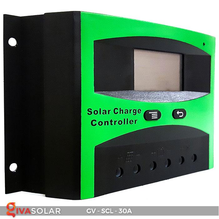 Bộ điều khiển sạc năng lượng mặt trời SCL-30A 3