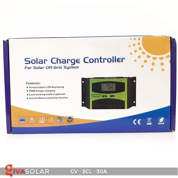 Bộ điều khiển sạc năng lượng mặt trời SCL-30A 7