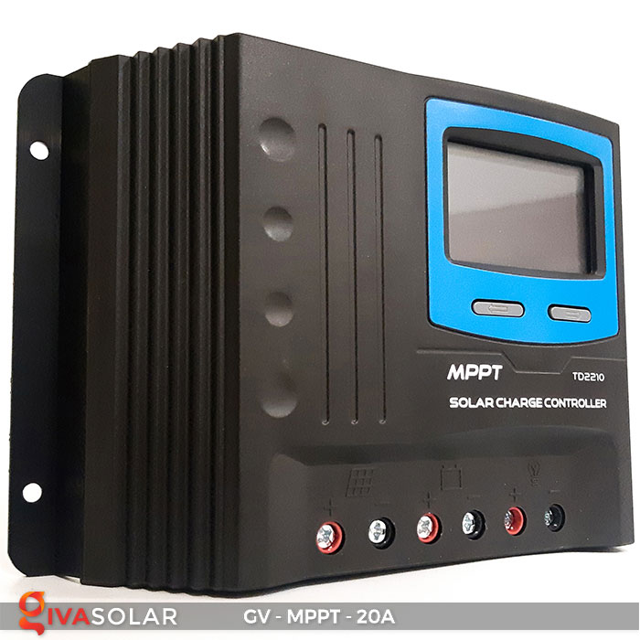 Điều khiển sạc năng lượng mặt trời MPPT 20A 1