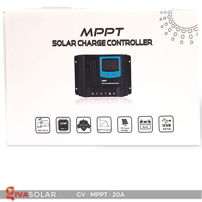 Điều khiển sạc năng lượng mặt trời MPPT 20A 8