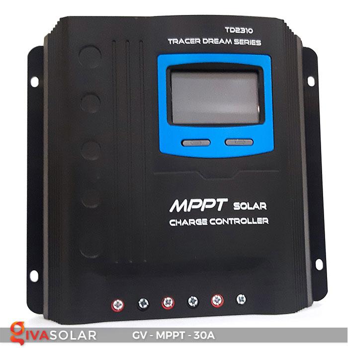 Bộ điều khiển sạc năng lượng mặt trời MPPT 30A 1