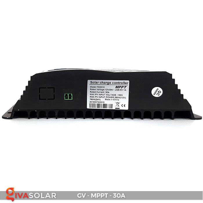 Bộ điều khiển sạc năng lượng mặt trời MPPT 30A 4