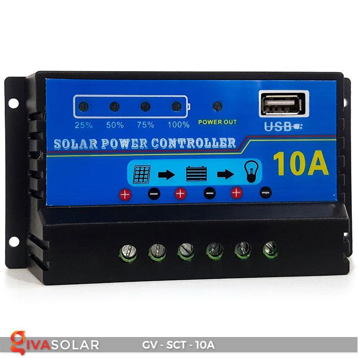 Bộ điều khiển sạc năng lượng mặt trời SCT 10A 1