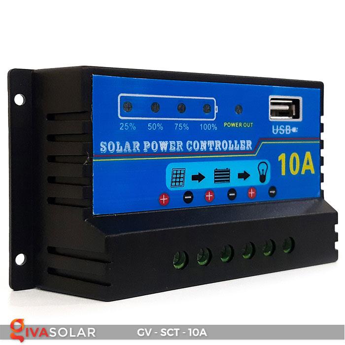 Bộ điều khiển sạc năng lượng mặt trời SCT 10A 2