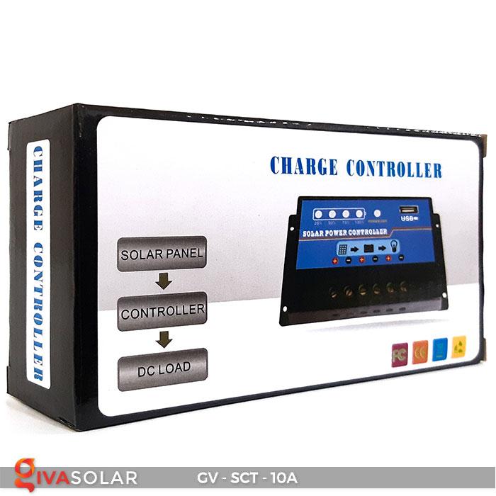 Bộ điều khiển sạc năng lượng mặt trời SCT 10A 7