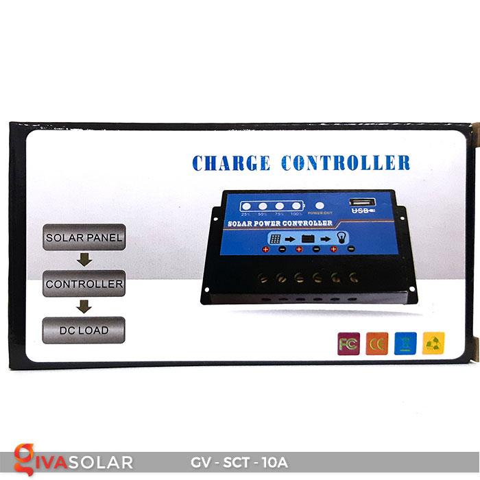 Bộ điều khiển sạc năng lượng mặt trời SCT 10A 8