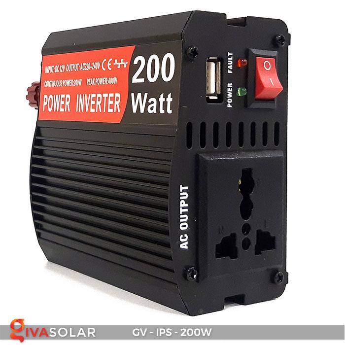 Bộ kích điện Inverter GV-IPS-200W 4