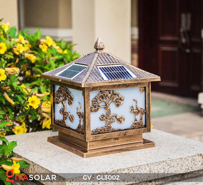 Đèn cổng năng lượng mặt trời GV-GL3002 1