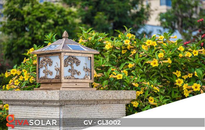 Đèn cổng năng lượng mặt trời GV-GL3002 2