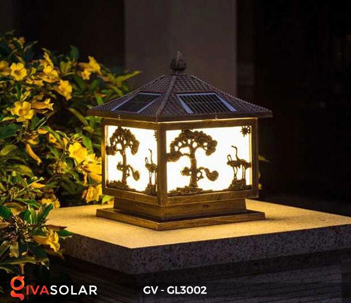 Đèn cổng năng lượng mặt trời GV-GL3002 4