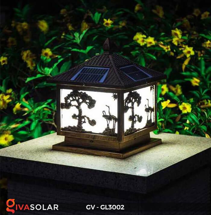 Đèn cổng năng lượng mặt trời GV-GL3002 5