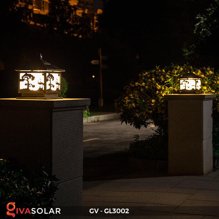 Đèn cổng năng lượng mặt trời GV-GL3002 6