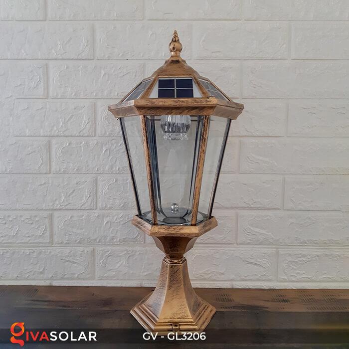 Đèn cổng chạy năng lượng mặt trời GV-GL3206 1