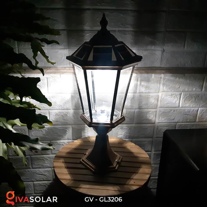 Đèn cổng chạy năng lượng mặt trời GV-GL3206 12