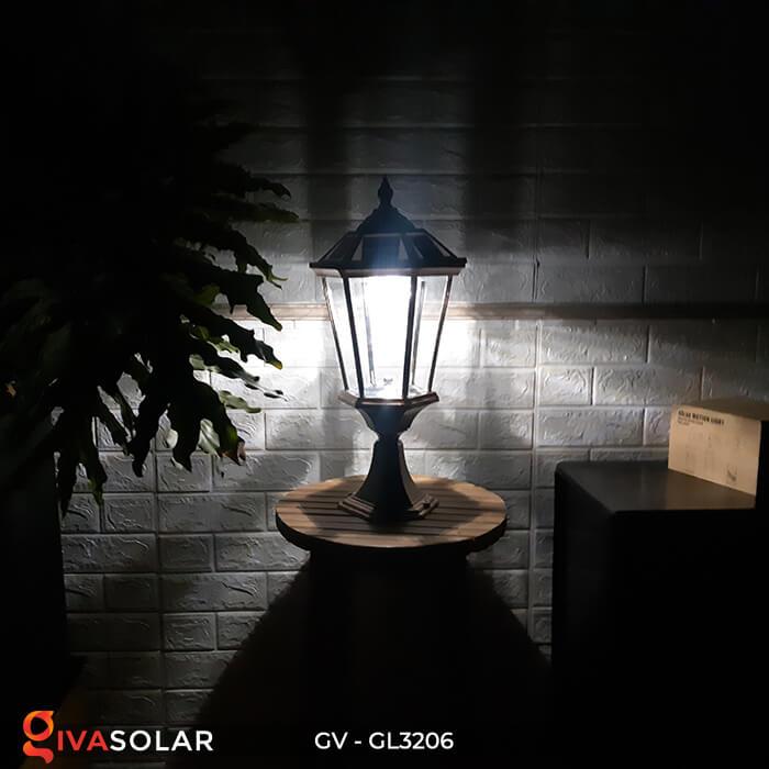 Đèn cổng chạy năng lượng mặt trời GV-GL3206 13