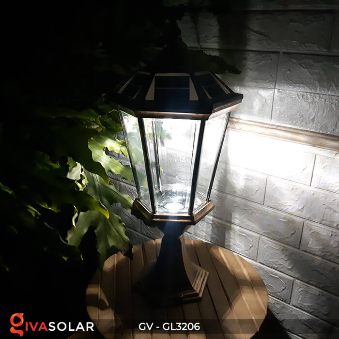 Đèn cổng chạy năng lượng mặt trời GV-GL3206 14