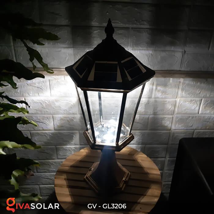 Đèn cổng chạy năng lượng mặt trời GV-GL3206 18