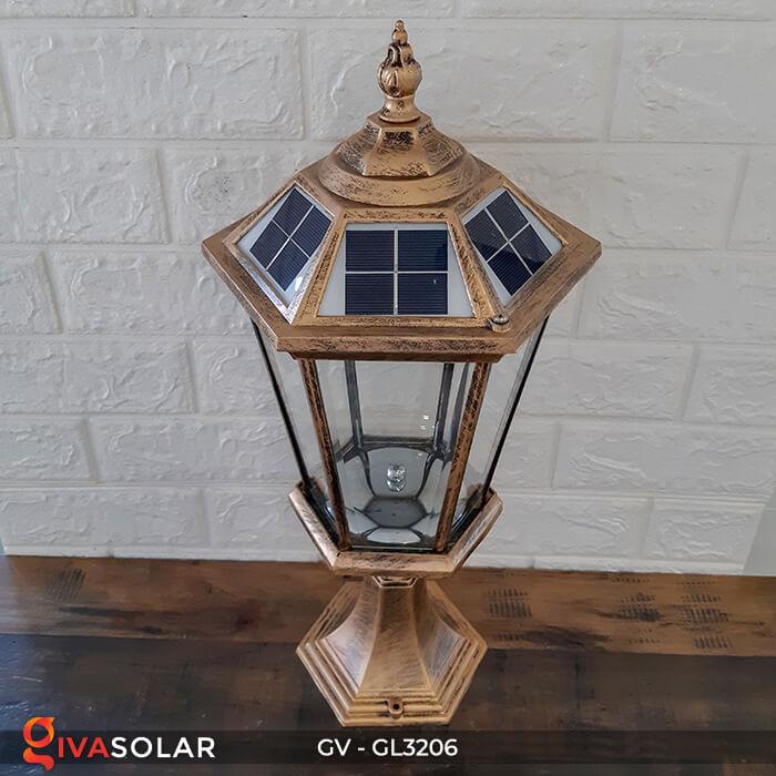 Đèn cổng chạy năng lượng mặt trời GV-GL3206 2