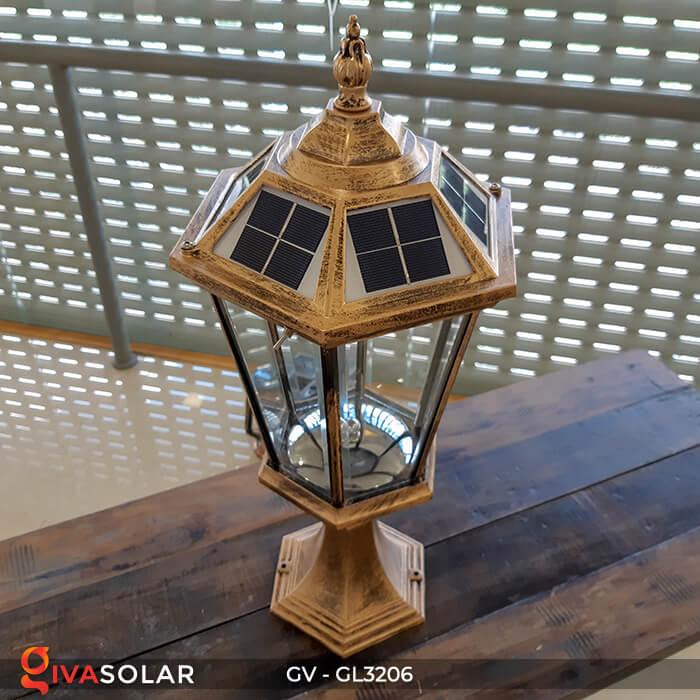 Đèn cổng chạy năng lượng mặt trời GV-GL3206 3