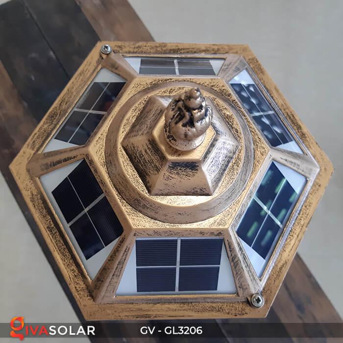 Đèn cổng chạy năng lượng mặt trời GV-GL3206 4