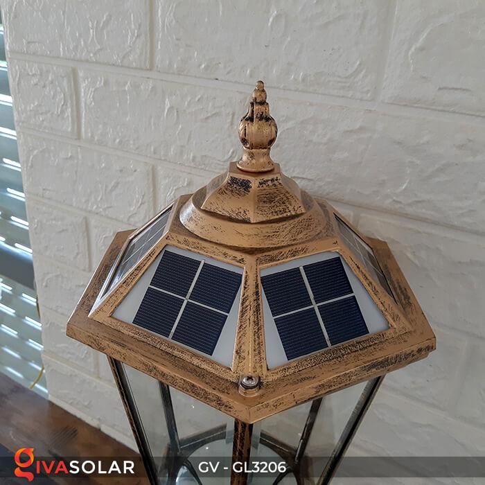 Đèn cổng chạy năng lượng mặt trời GV-GL3206 6