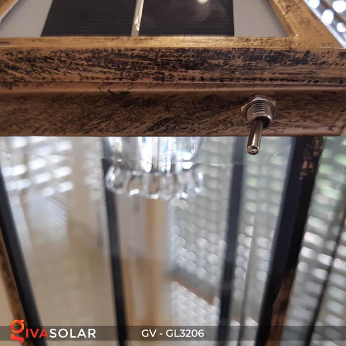 Đèn cổng chạy năng lượng mặt trời GV-GL3206 8