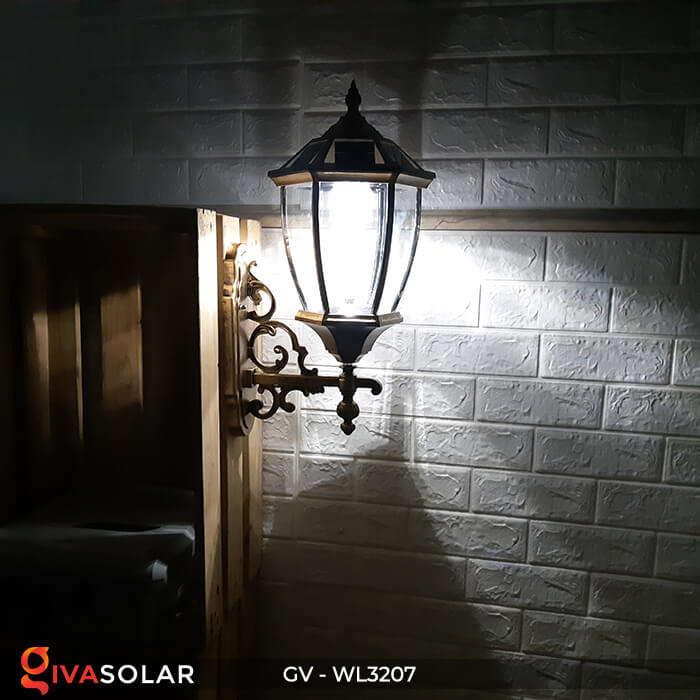 Đèn gắn tường năng lượng mặt trời GV-WL3207 12
