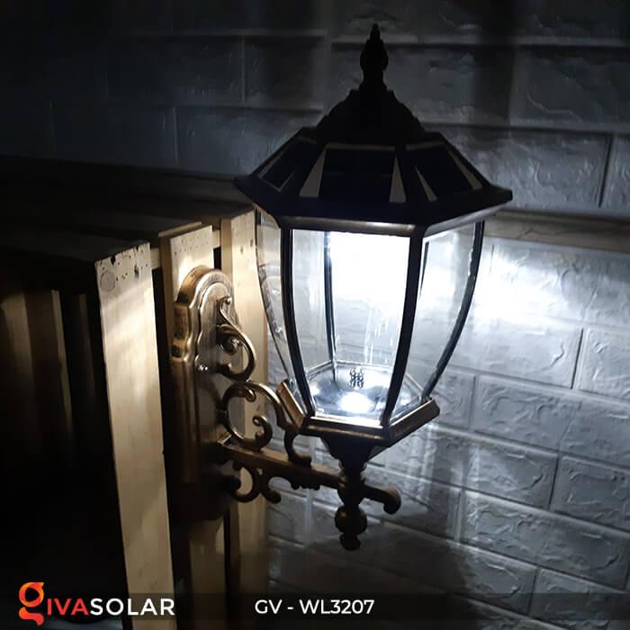 Đèn gắn tường năng lượng mặt trời GV-WL3207 13