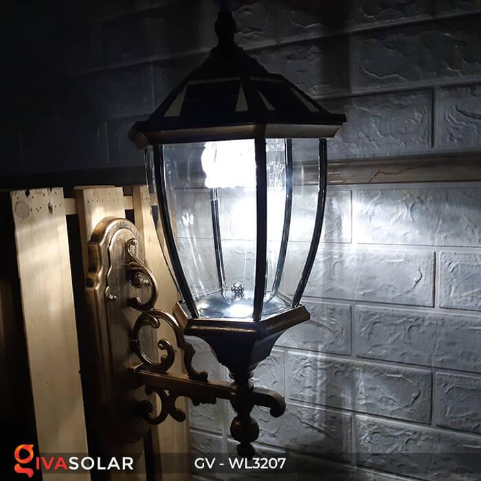 Đèn gắn tường năng lượng mặt trời GV-WL3207 15