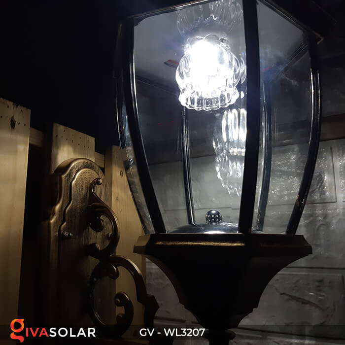 Đèn gắn tường năng lượng mặt trời GV-WL3207 17