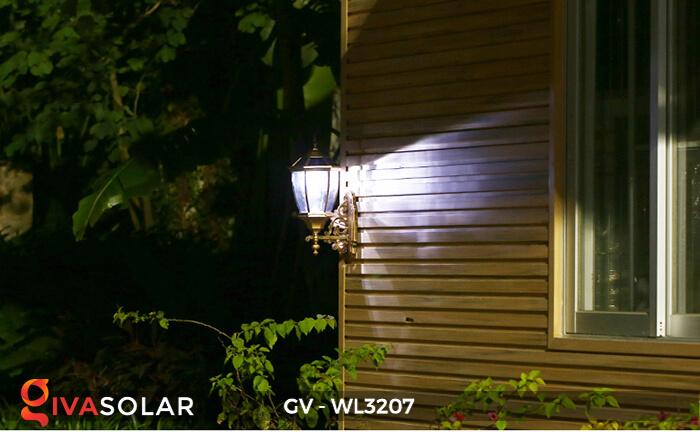 Đèn gắn tường năng lượng mặt trời GV-WL3207 3