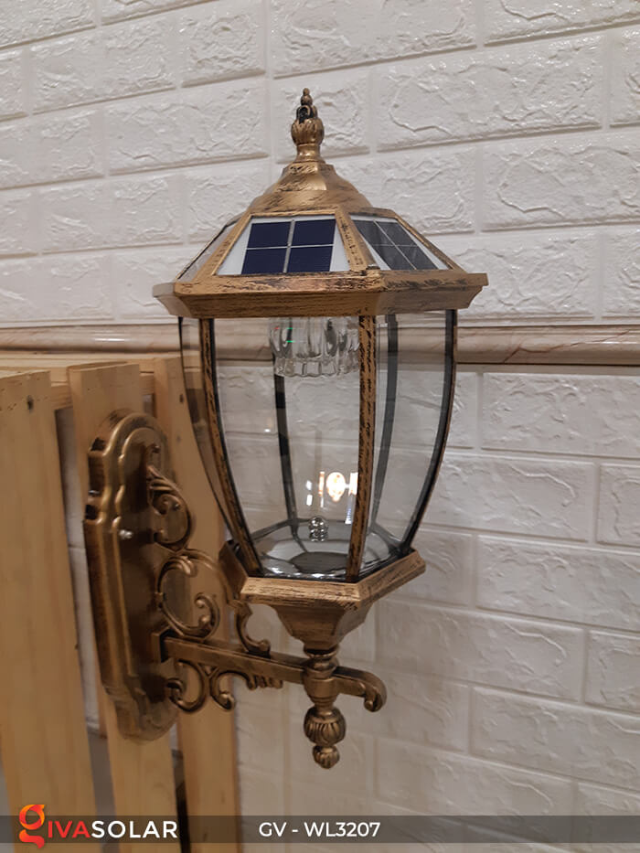 Đèn gắn tường năng lượng mặt trời GV-WL3207 4