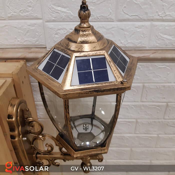 Đèn gắn tường năng lượng mặt trời GV-WL3207 5